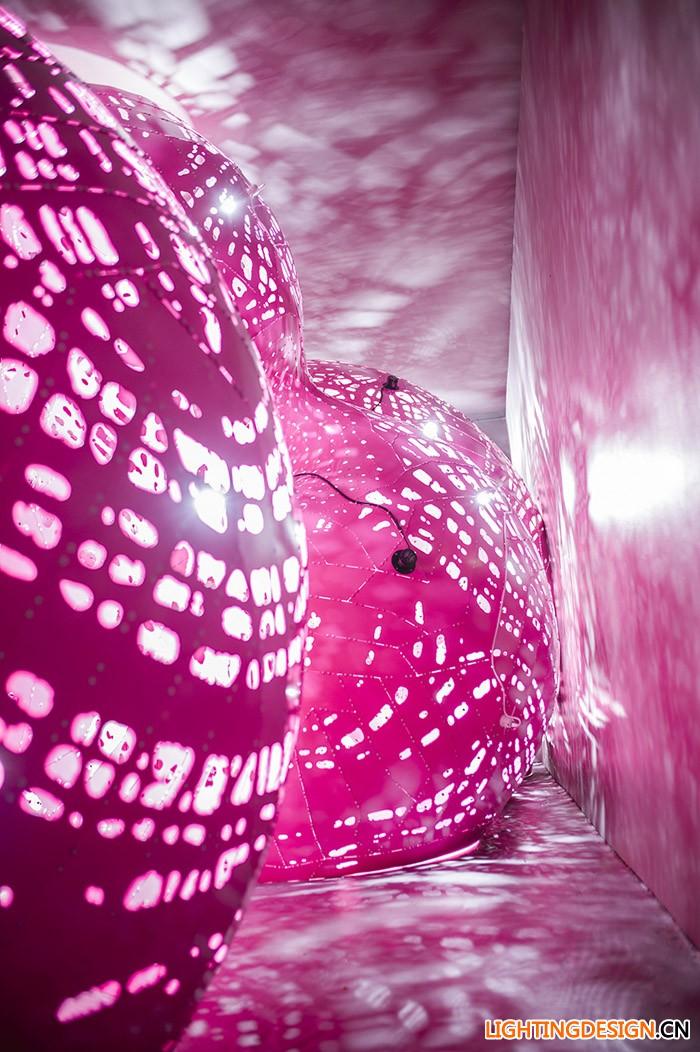 视觉加音效艺术装置_室内设计_案例_中国照明设计网
