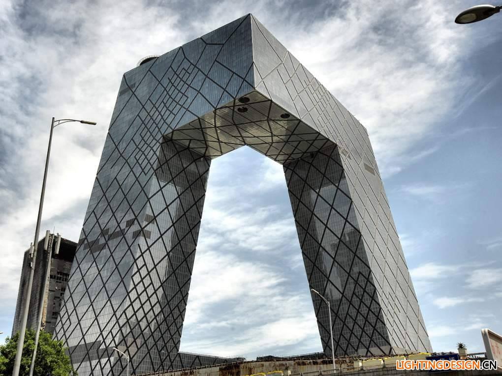 大裤衩建筑简笔画