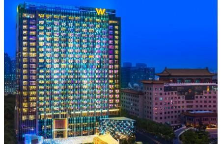 长安街上的W酒店,要如何表达它的北京印象?