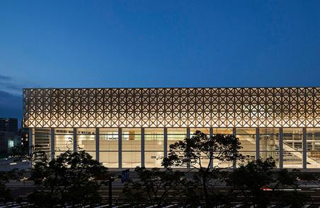 坂茂设计的日本大分县艺术博物馆正式开放 (14)