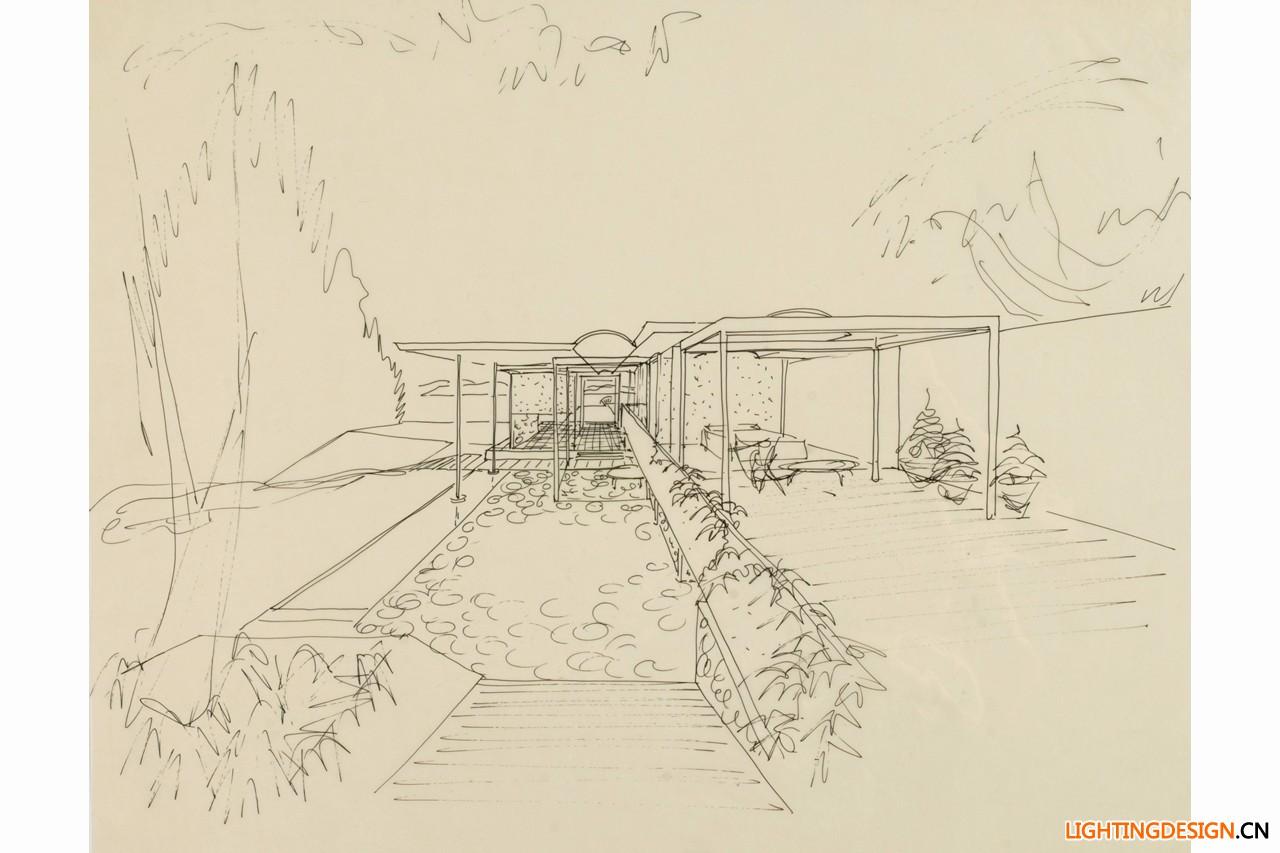 上世纪五六十年代的建筑师手稿是什么样的?