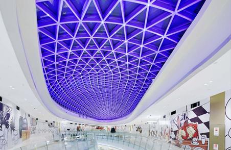 西安金地湖城大境商业中心灯光设计 (6)