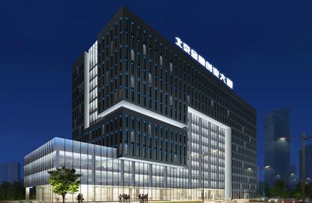 北京城建集团学院南路62号科研楼夜景照明设计方案 (4)